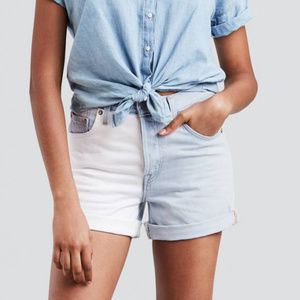 Levi's 501 Button Fly Altered Two Tone Shorts NWT